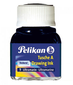 INCHIOSTRO DI CHINA 523 BLU OLTREMARE 9 10ML PELIKAN