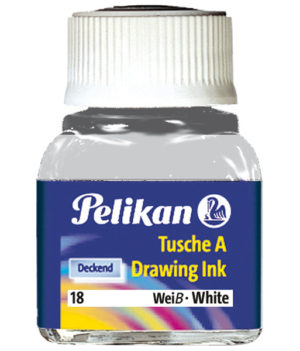 INCHIOSTRO DI CHINA 523 BIANCO 18 10ML PELIKAN